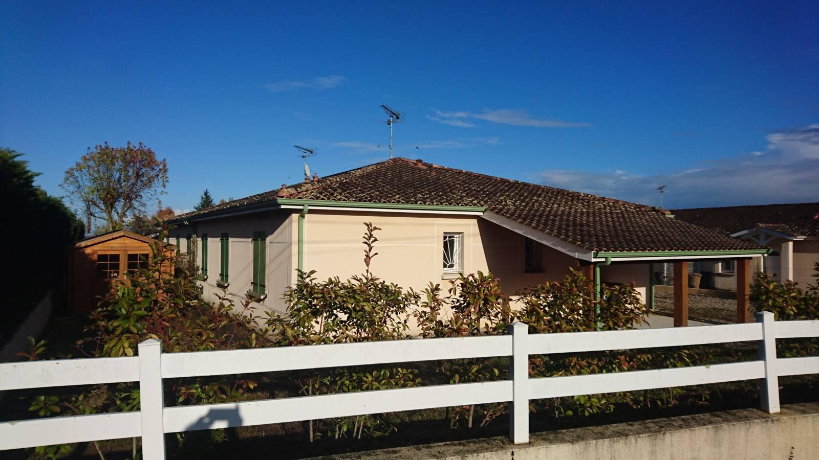 Vendre maison de plain pied avec garage et jardin proche de bordeaux rival immobilier - Maison jardin public bordeaux vendre tours ...